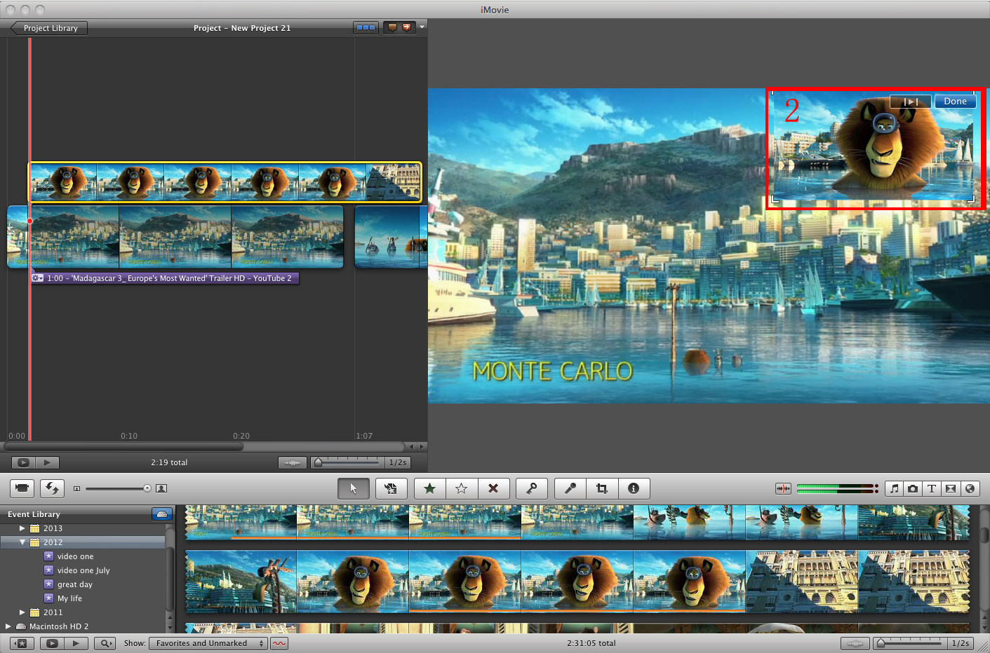 how to finish a movie in imovie 10